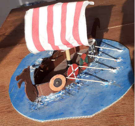 Y5 Viking boat homework